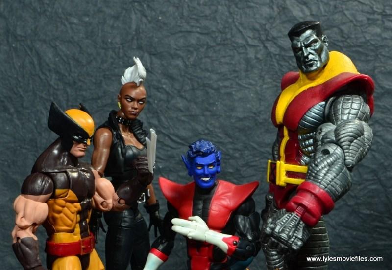 marvel legends storm figure review - john romita x-men cover homage