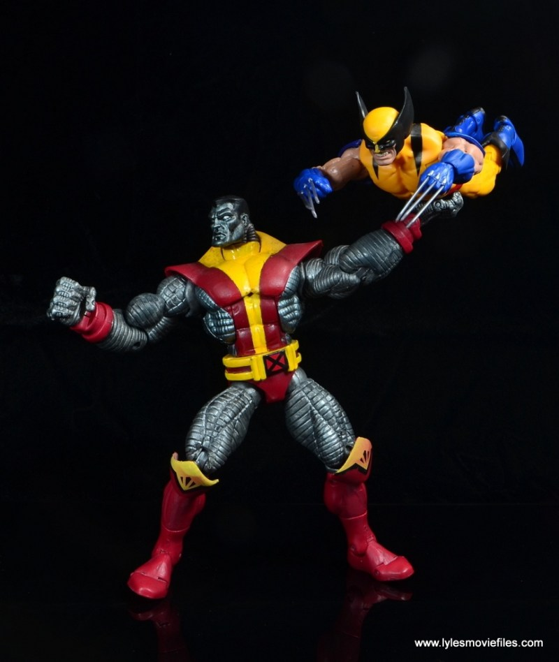 marvel legends wolverine figure review - fastball special