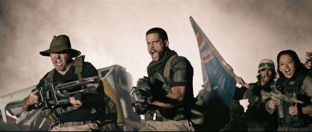 occupation movie review - charles mesure, dan ewing and stephanie jacobsen