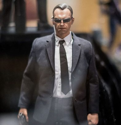sdcc 2018 hot toys reveals -agent smith