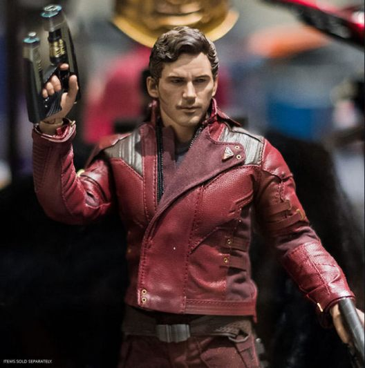sdcc 2018 hot toys reveals - star-lord
