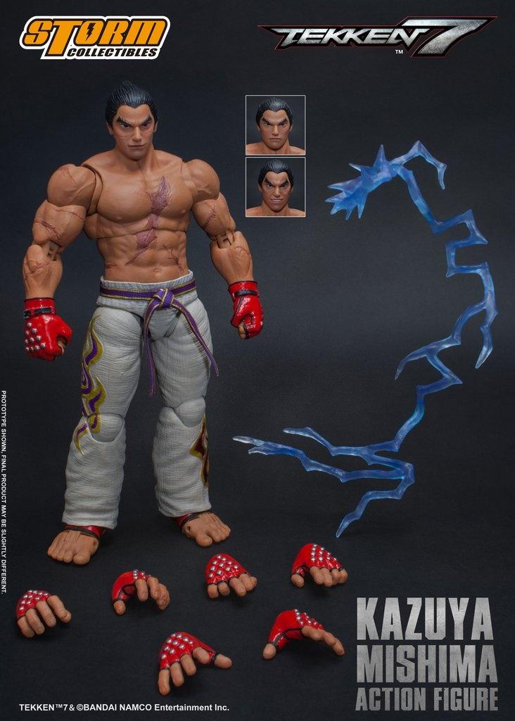storm collectibles kazuya mishima figure - accessories