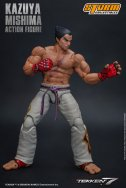storm collectibles kazuya mishima figure - battle ready