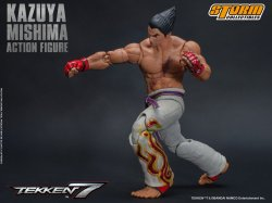storm collectibles kazuya mishima figure -straight punch
