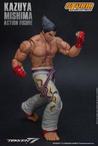 storm collectibles kazuya mishima figure - uppercut ready