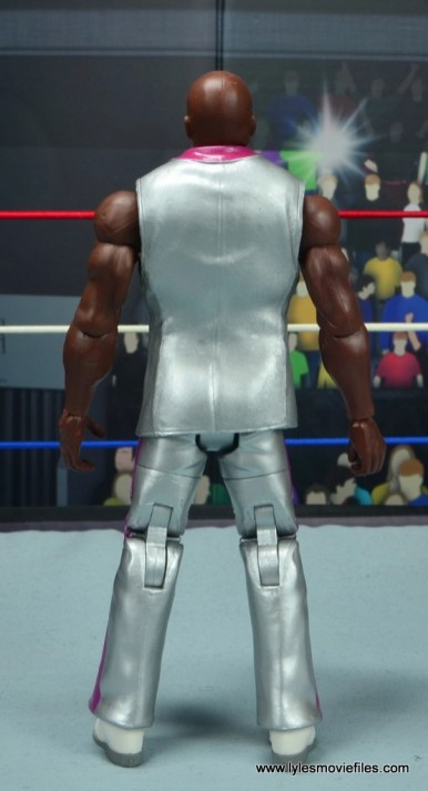 wwe elite virgil figure review -rear