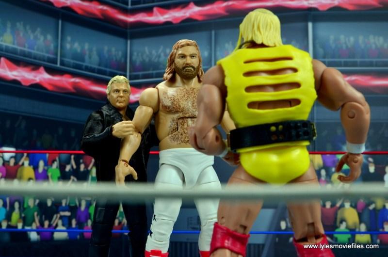 wwe fan central bobby heenan figure review - getting big john studd hyped to fight hulk hogan