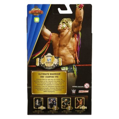 wwe hall of champions 3 - ultimate warrior package rear