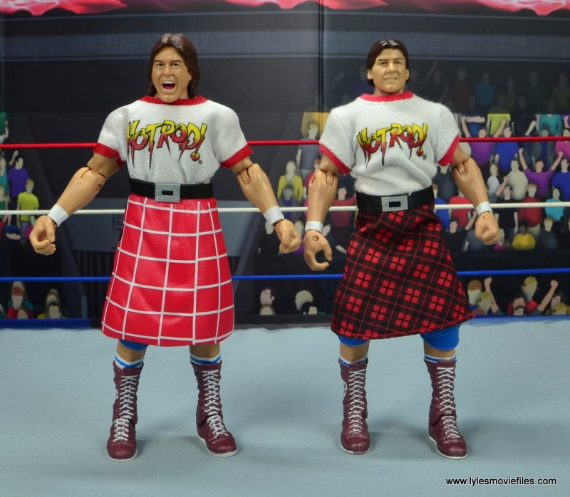wwe hall of fame rowdy roddy piper figure review - with entrance great piper
