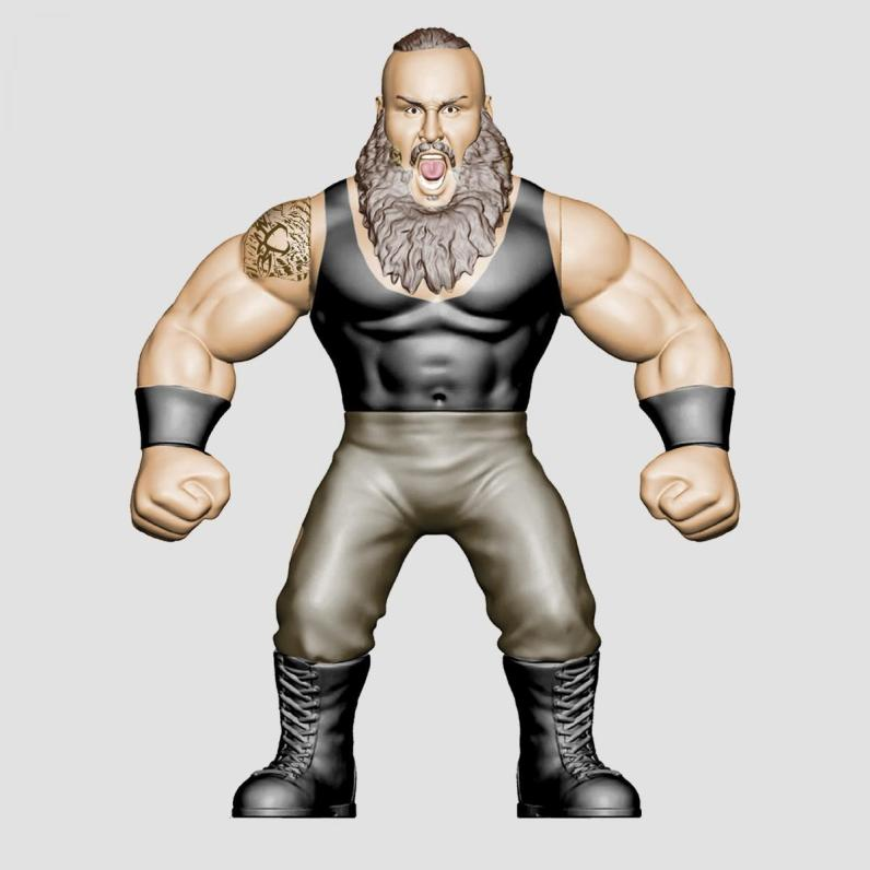 wwe sdcc18 reveals -braun strowman retro