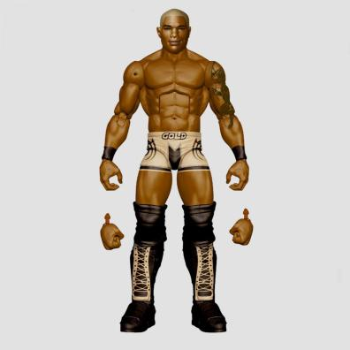 wwe sdcc18 reveals -shelton benjamin chase