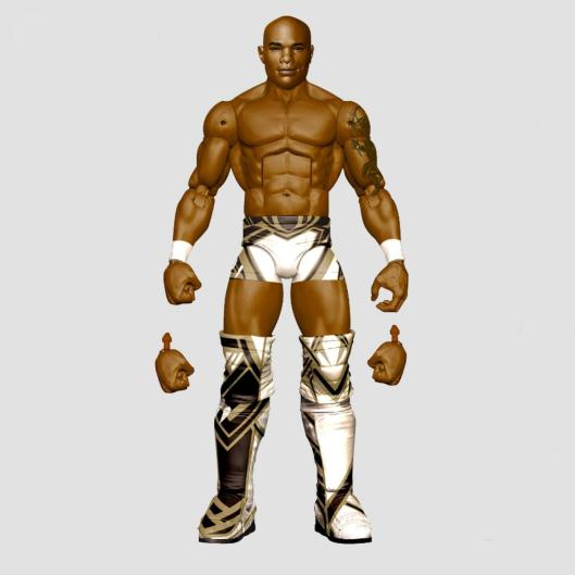 wwe sdcc18 reveals -shelton benjamin