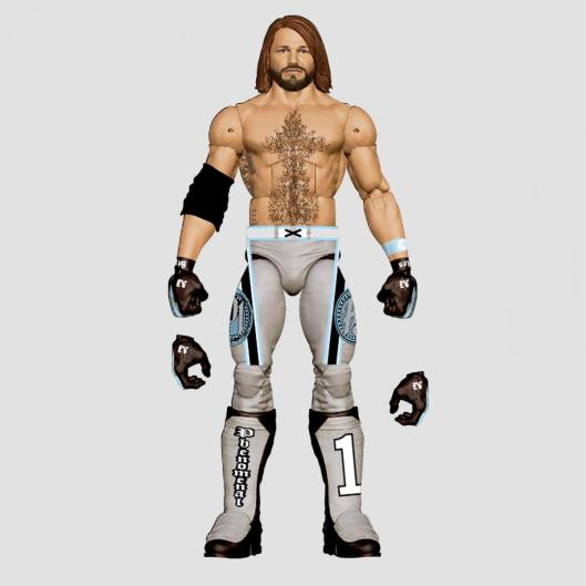 wwe sdcc18 reveals - wwe elite aj styles