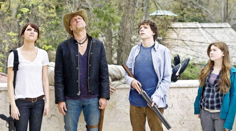 zombieland sequel - emma stone, woody harrelson, jesse eisenberg and abigail breslin