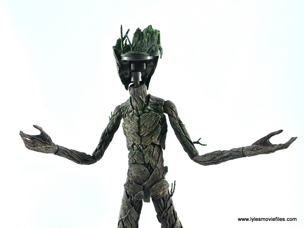 Hot Toys Avengers Infinity War Groot And Rocket Review Groot No