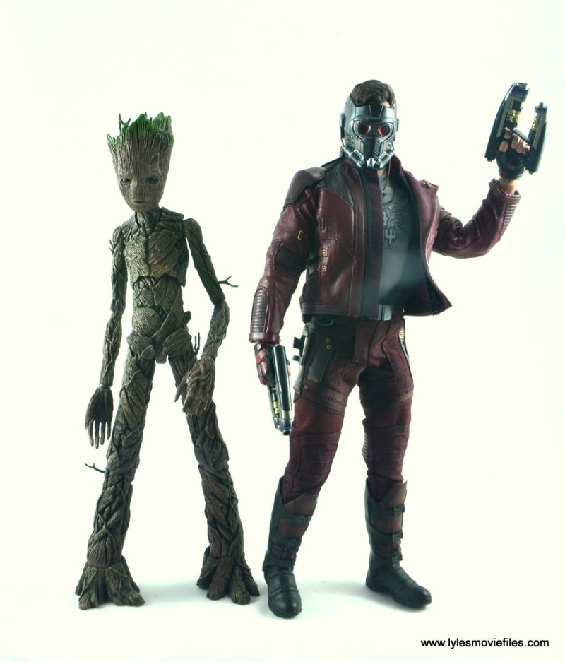 hot toys avengers infinity war groot and rocket review - groot with star-lord