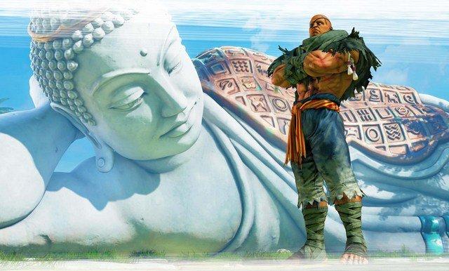 Street Fighter V Arcade Edition reveals Sagat - Sagat arms crossed
