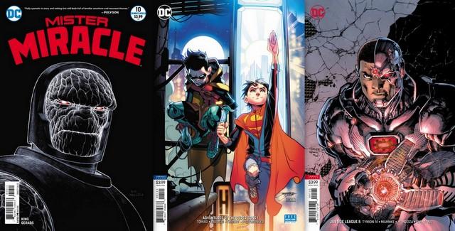 dc comics reviews for 8/1/18