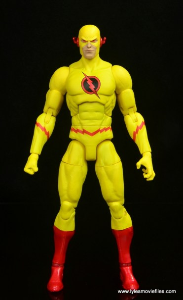 dc essentials reverse-flash figure flash - front