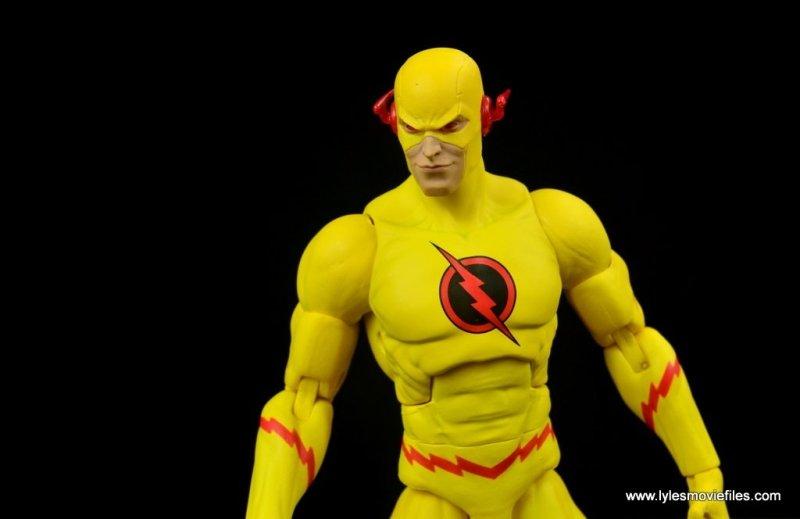 dc essentials reverse-flash figure flash - head sculpt detail