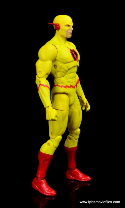 dc essentials reverse-flash figure flash - right side