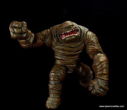 dc multiverse collect and connect clayface figure review -on the move