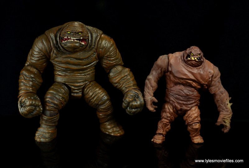 dc multiverse collect and connect clayface figure review -with dc classics clayface