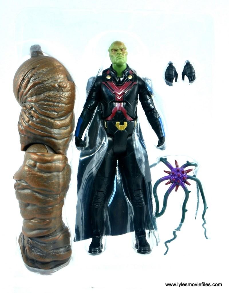 dc multiverse martian manhunter figure review - accessories