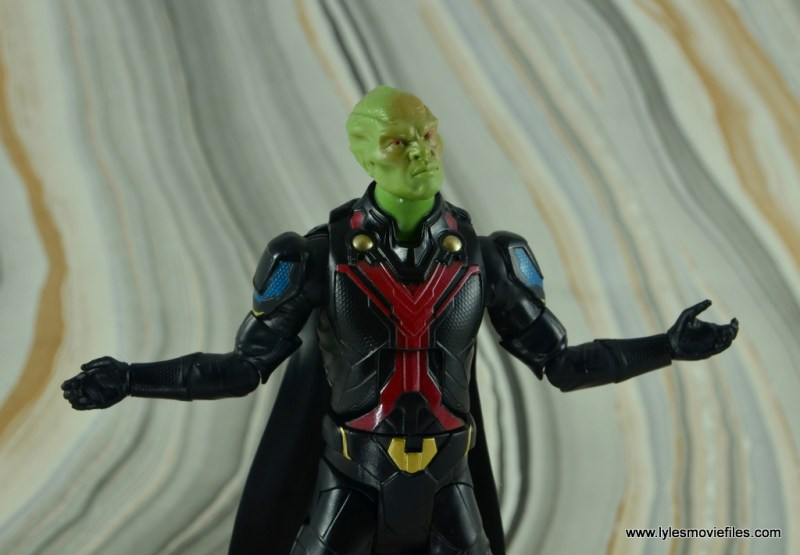 dc multiverse martian manhunter figure review - arms up