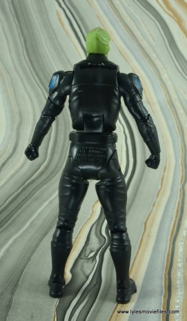 dc multiverse martian manhunter figure review - rear