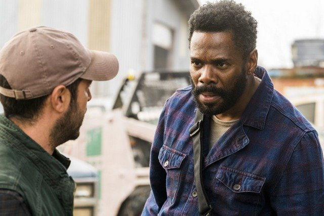 fear the walking dead buried review -cole and strand