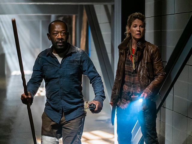 fear the walking dead no one's gone review - morgan and naomi