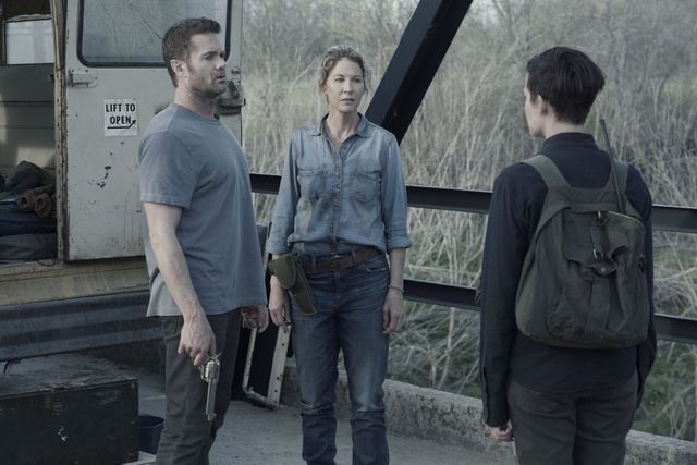 fear the walking dead people like us review - john, june and althea