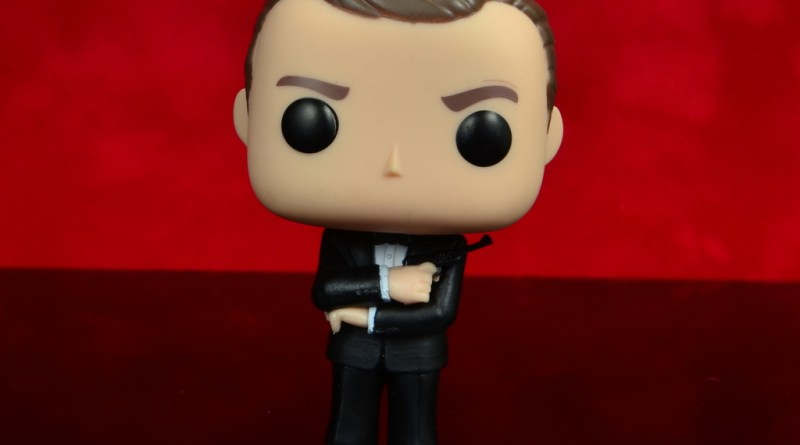 funko pop james bond figure review - main pic
