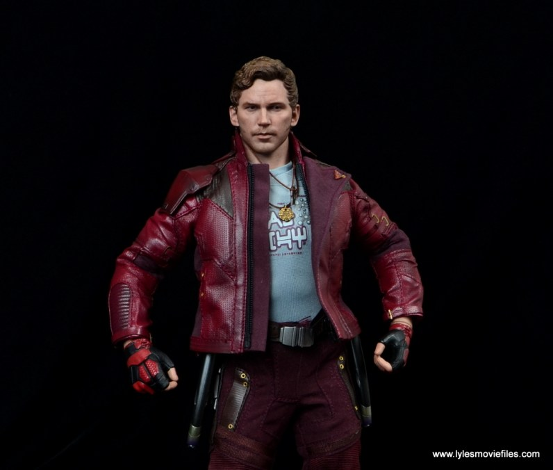 hot toys guardians of the galaxy vol. 2 star-lord figure review reaching for guns