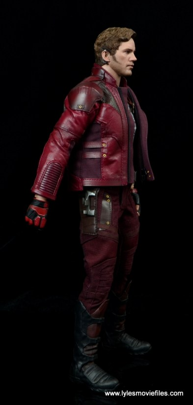 hot toys guardians of the galaxy vol. 2 star-lord figure review right side