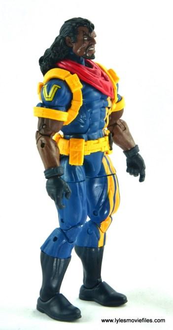 marvel legends bishop action figure review - right side