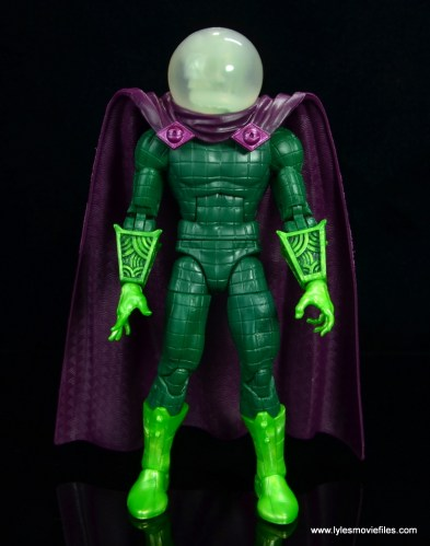 marvel legends mysterio figure review - front