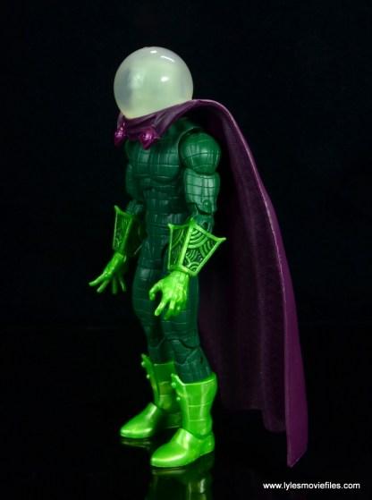 marvel legends mysterio figure review - left side
