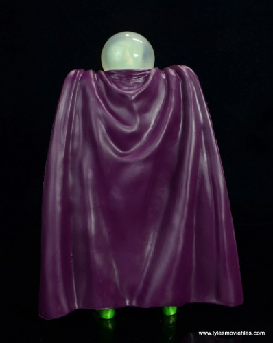 marvel legends mysterio figure review - rear
