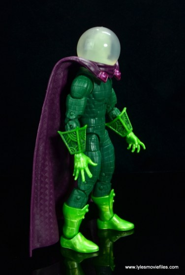 marvel legends mysterio figure review - right side