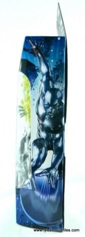 marvel legends silver surfer figure review -package side