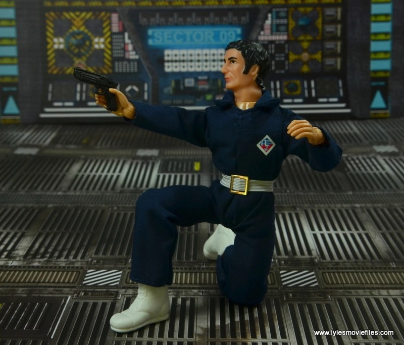 mego action jackson figure review - on one knee