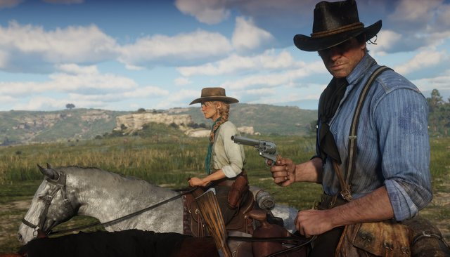 red dead redemption 2 trailer - riding
