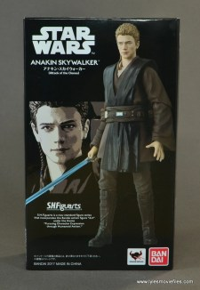 sh figuarts anakin skywalker figure review - package front