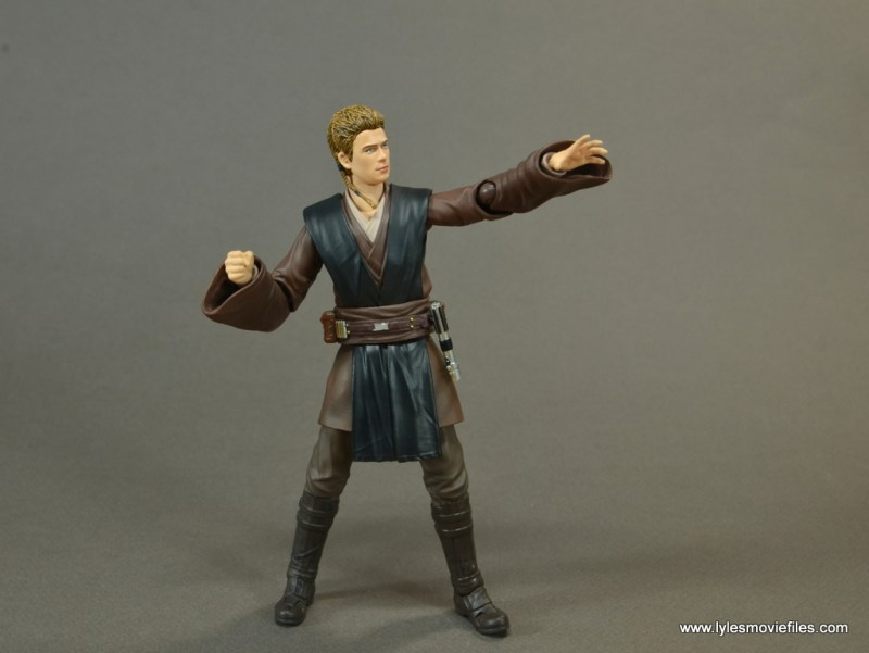 sh figuarts anakin skywalker figure review - using the force