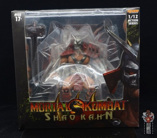 storm collectibles mortal kombat shao khan figure review - package front