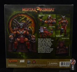storm collectibles mortal kombat shao khan figure review - package rear