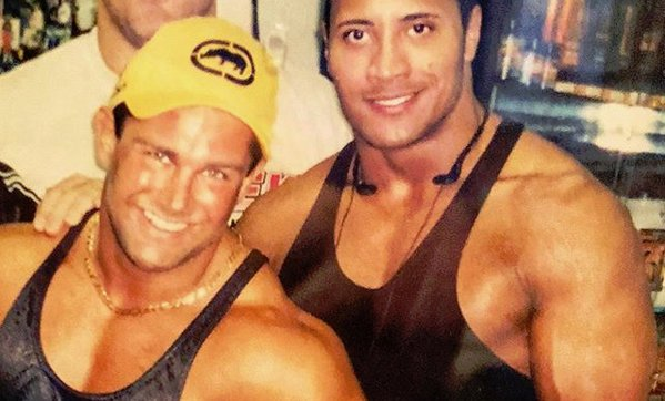 the rock and brian christopher
