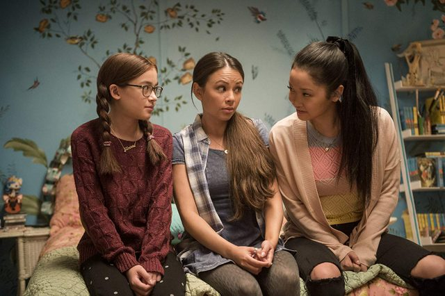 to all the boys i've loved before movie review - anna cathcart, janel parrish and lana condor